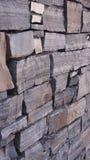 Vägg för granitstentegelsten 3 Arkivfoton