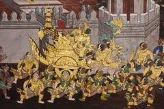 vägg för konstmålningsstil royaltyfri bild