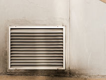 vägg för luftlufthål Arkivbilder