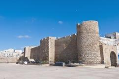 vägg för medinamorocco safi Royaltyfri Foto