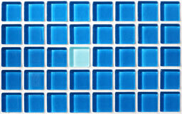 Vägg för mosaiska tegelplattor Arkivbilder