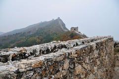 vägg för simatai för beijing porslin stor arkivbilder