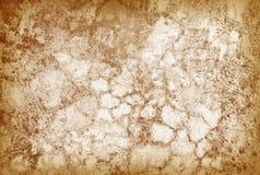 vägg för sprucken grunge för bakgrundsbrown gammal retro Royaltyfri Bild