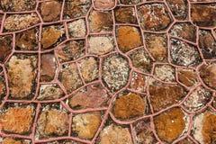 vägg för sten för bakgrundsfärggrunge Royaltyfri Foto