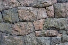 vägg för sten för bakgrundsfärggrunge Arkivfoto