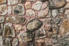 vägg för sten för bakgrundsfärggrunge stenmurverk Fotografering för Bildbyråer