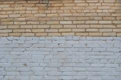 vägg för tegelstengrungetextur Arkivfoto