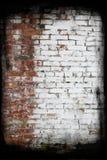 vägg för tegelstengrungetextur Royaltyfri Foto