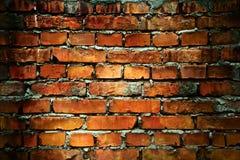 vägg för tegelstengrungetextur royaltyfri fotografi