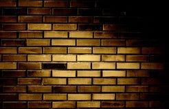 vägg för tegelstengrungetextur Arkivfoton