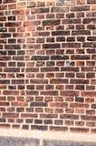 vägg för tegelstengrungetextur Fotografering för Bildbyråer