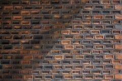 vägg för tegelstengrungetextur Royaltyfria Bilder