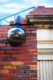 vägg för tegelstenlampred Arkivbild