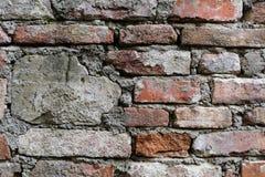 vägg för textur för del för facadehus ett utomhus- Royaltyfria Foton