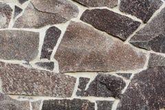vägg för textur för del för facadehus ett utomhus- Royaltyfri Bild
