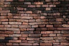 vägg för textur för bakgrundstegelsten gammal Royaltyfri Fotografi