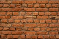 vägg för textur för detalj för arkitekturbakgrundstegelsten gammal röd Royaltyfria Foton