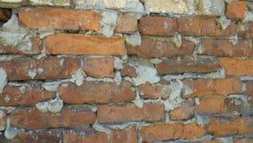 vägg för textur för upplösning för hög gammal kvalitet för foto för bakgrundstegelsten röd arkivfilmer
