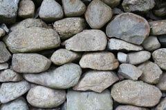 Vägg för torr sten Royaltyfri Foto