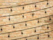 vägg för trädgård för framdel för tegelstenbrownblomma Arkivbild