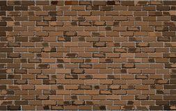 vägg för trädgård för framdel för tegelstenbrownblomma Royaltyfria Bilder