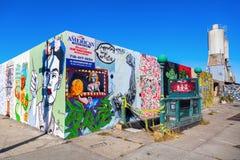 Vägg- konst i Bushwick, Brooklyn, NYC Royaltyfria Foton