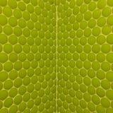 Vägg med gröna mosaiker Arkivfoto