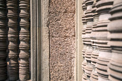 Vägg med kolonner Royaltyfri Bild