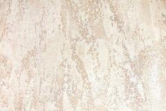 Vägg med ljus - dekorativ murbruk för brun färg texturerade bakgrunder arkivfoton