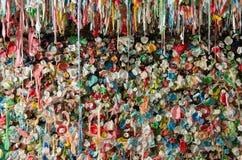 Vägg och avsats för gummi för Seattle stolpegränd Royaltyfri Fotografi