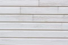 Vägg som göras av målade träplankor Texturera bakgrund royaltyfri fotografi
