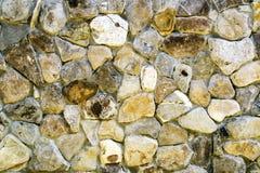 Vägg som göras av stenar Royaltyfria Bilder