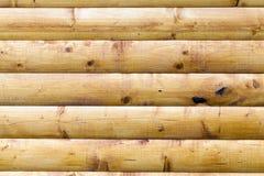 Vägg som göras av trä Royaltyfria Bilder