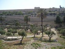 Väggar av Ierusalem Arkivfoton