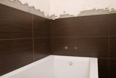 väggar för keramisk tegelplatta Fotografering för Bildbyråer