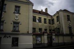 Väggar för Vilnius ` s Royaltyfria Bilder