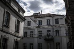 Väggar för Vilnius ` s Arkivfoton