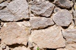 Väggarna göras av stenen Arkivfoto