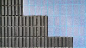 Väggbakgrund för mosaisk tegelplatta Royaltyfria Foton