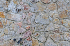 Väggbakgrund och textur för sten sömlös detaljerad verklig sten för bakgrund mycket Arkivbilder