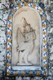 Väggdetalj av Wat Arun Royaltyfri Bild