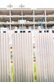 Väggen av byggnadskonstruktion Arkivbilder