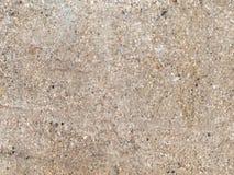 Väggen av den förfallna betongen Arkivfoton
