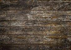 Väggen av det gammala trä stiger ombord Fotografering för Bildbyråer