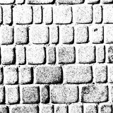 Väggen av tegelstenar Arkivfoto