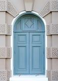 Väggen och fönstret för korridor för biskopsstol för chakrimaha prasat Royaltyfria Foton