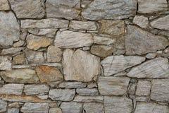 Väggen vaggar stenen Royaltyfria Bilder