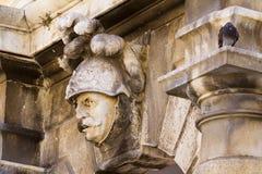 Vägggarneringhög-lättnad dubrovnik Royaltyfri Fotografi