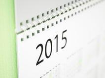 Väggkalender 2015 Fotografering för Bildbyråer