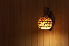 Vägglampa Arkivfoto